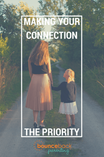 One phrase that gives you clarity about connection with your kids