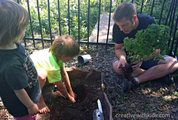 Beginning Gardening With Kids