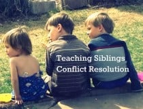 Teaching Kids Conflict Resolution Skills