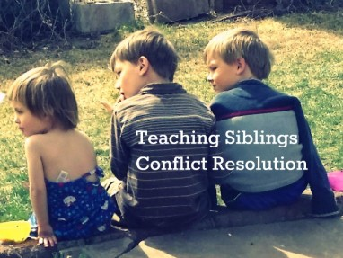 Helping Siblings Resolve Conflicts – Raising Friends for Life