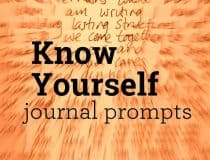 Rediscover who you are since becoming a parent - Know Yourself Journal Prompts