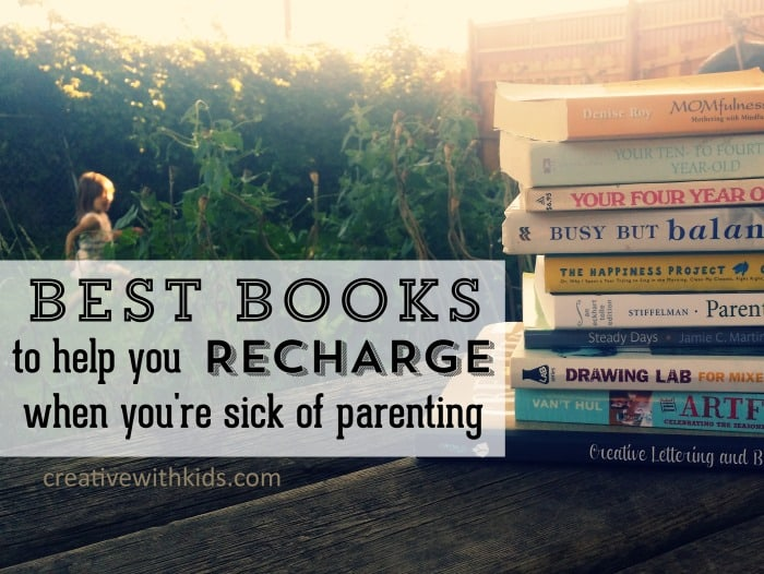 Books to recharge your mom batteries