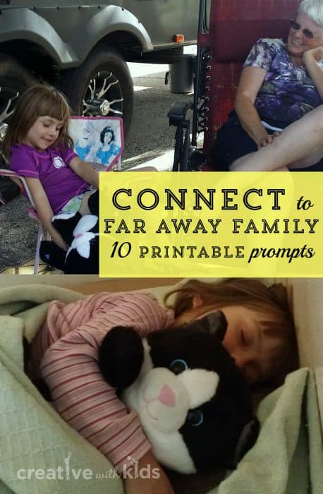 10 connection prompts for making strong connections with far away family