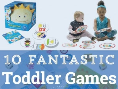 10+ Fantastic Board Games for Toddlers