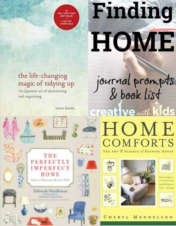 Journal Prompts - Making Your House a Home and Your Home a Haven