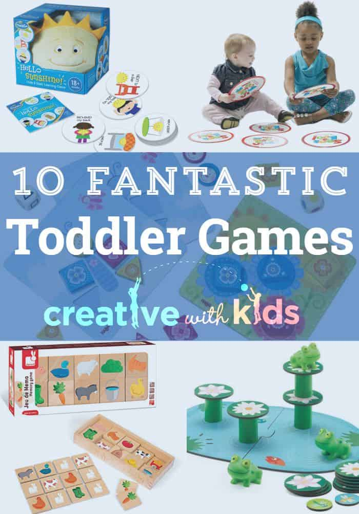Board Games for Toddlers! These are some of the best toddler games - fun for one two and three year olds as well as for parents