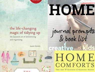 Journal Prompts: Finding Home + Inspirational book list