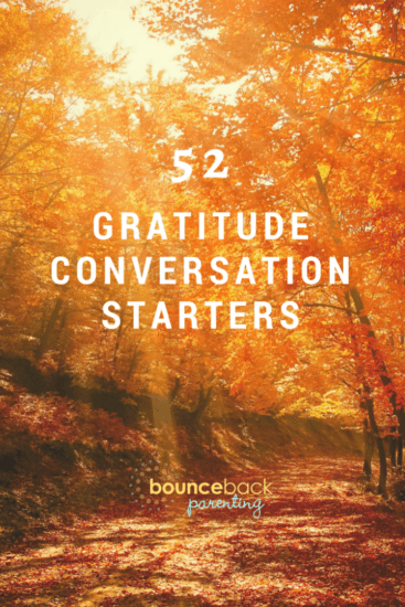 52 Gratitude Conversation Starters or Journal Prompts