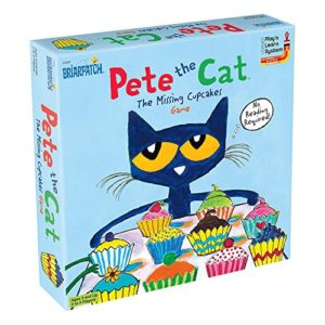 pete the cats cupcake party board game