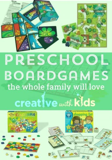 Preschool board games that everyone will want to play. Best board games for 3 year olds to 5 year olds