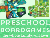 preachool boardgames for 4 year olds