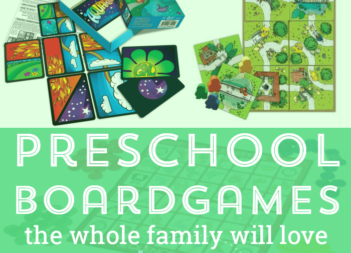 Board Games for Preschoolers - games 3, 4 and 5 year olds ...