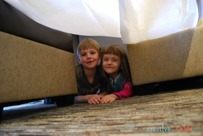 Fort Building fun at Hyatt House