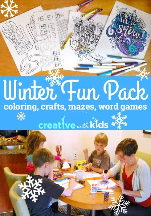 Printable Winter Activities - Free Download