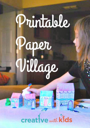Printbale Winter Activites Pack - Paper Village