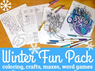 Winter Activities Printable Pack