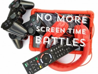 Screen Time for Kids – How to make family media rules that work