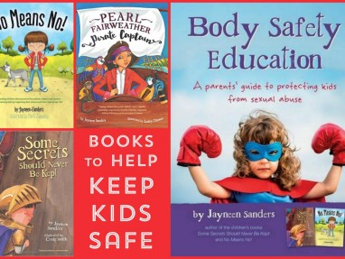 Body Safety Education Books to prevent sexual abuse