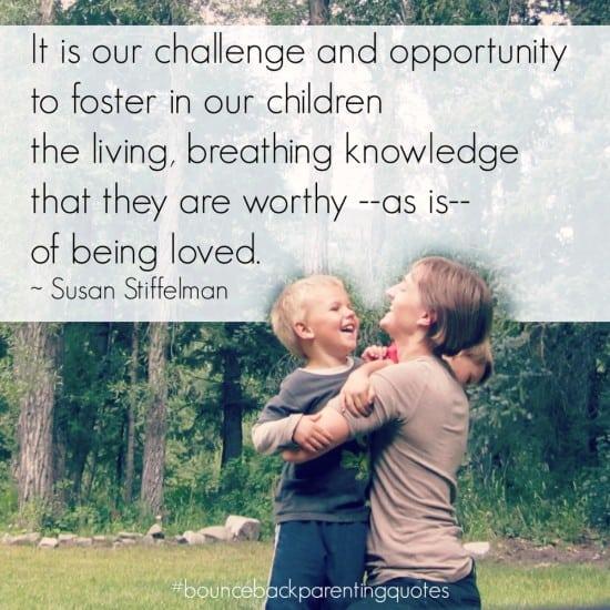 inspirational parenting quotes bounceback parenting