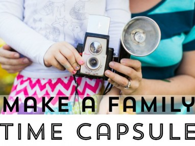 Family Time Capsule Photo Project