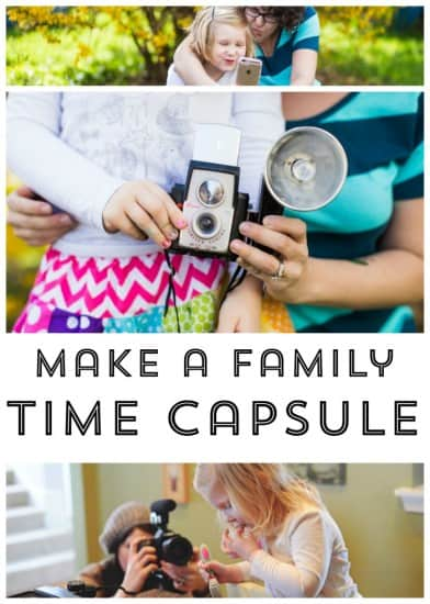 How to Make a Family Time Casule