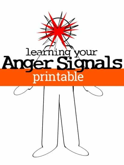 Use this anger signals notebook page to begin your journey towards calm