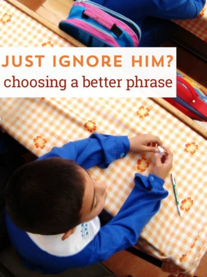 Why Change the way you speak to kids - more positive phrasing