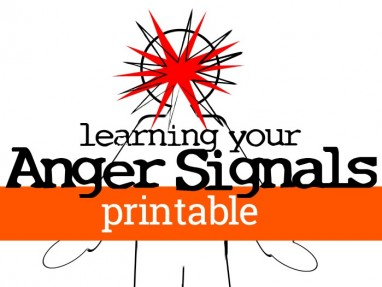 Learning Your Anger Signals – First steps in managing anger