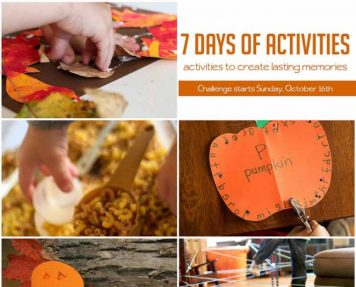7 Day Kid Activity Challenge – super fun way to make memories