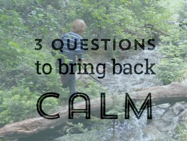 Bring back calm to your anxious or angry kid