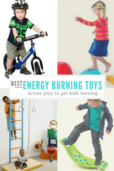 Best Indoor Energy Burning Toys for Active Kids