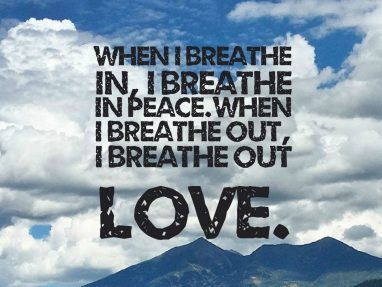 Meditation on Breathing – for those in distress