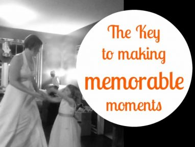 One Key to Making Memories You'll Treasure with Your Kids