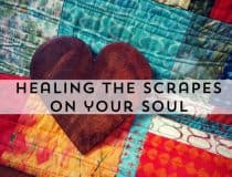 Mindful parenting and healing the scrapes on your soul