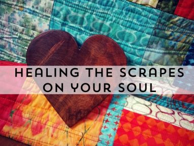 Gifts of a Bike Crash – Healing the Scrapes on your Soul
