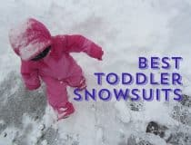 Snowsuits and snow gear for toddlers