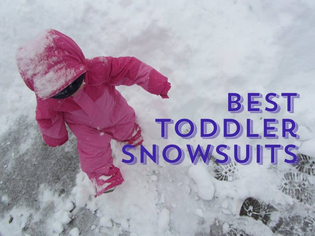 623ef17cfe3d Best Snowsuits for Toddlers