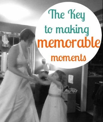 Making memorable moments with your kids