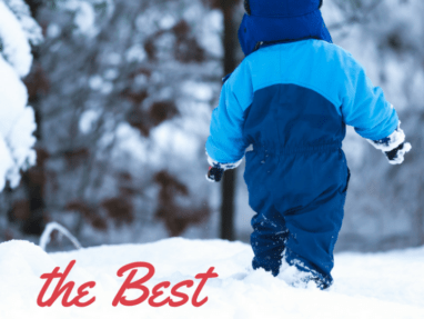 Snow Boots for Toddlers - play outside this winter