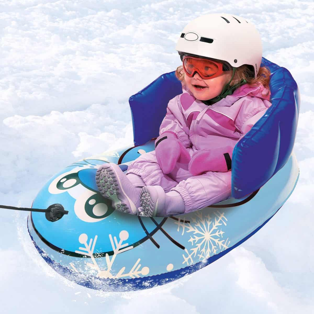 best sleds for toddlers snow fun for the littlest riders. Black Bedroom Furniture Sets. Home Design Ideas