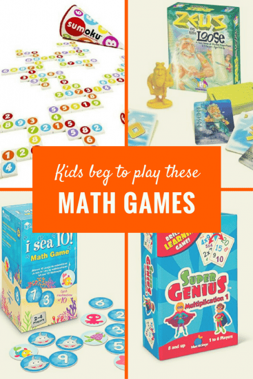 Practice math and have fun with these math board games