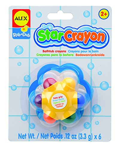 alex toys rub a dub star crayon