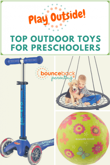 Outdoor PLAY! Top Outdoor Toys for 4-5 year olds