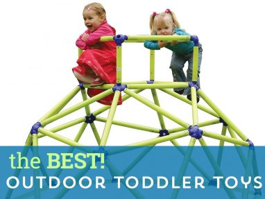 Best Outdoor Toys for Toddlers – encourage active play outside!