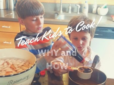 Benefits of Cooking in Early Childhood