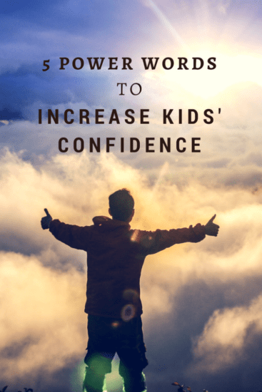 5 Power Words to Increase Kids Confidence