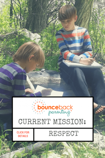 Parenting Secret Mission Rediscover Respect - understanding and encouraging respect in your family