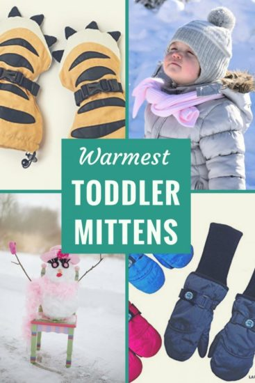 Best Mittens for Toddlers to keep little hands warm this winter
