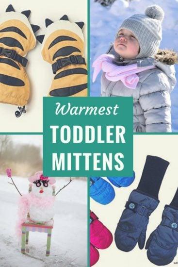 3T Kids Ski Snow Gloves for Toddler Girl 1Yr