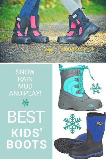 Best Winter Boots for Kids - Keeps kids active this winter when you have warm comfortable winter boots to play in